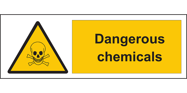 Dangerous Chemicals Warning